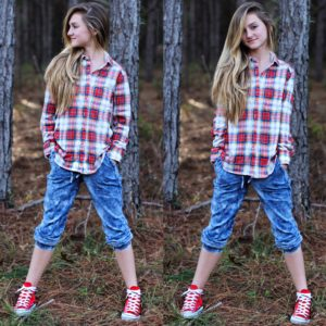 Brooklyn Gaby Plaid